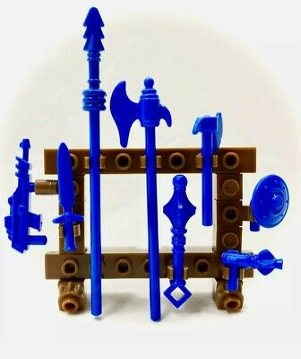 $13 • Buy Mega Construx Masters Of The Universe MOTU WEAPONS RACK  Panthor At Point Dread