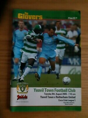 Yeovil Town Home Football Programmes • 1£