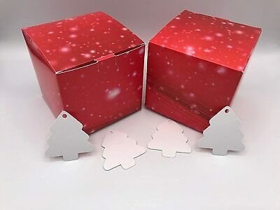 10cm X 10cm Valentine's Day Card Gift Box Red With Sparkles X 10 • 6.29£