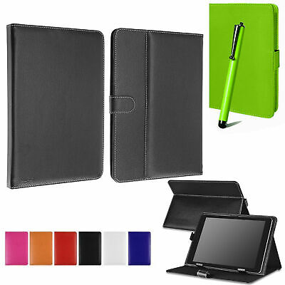 Universal Book Flip Folio Leather Case For ASUS ACER DELL GOOGLE 7 10 Tablet • 4.99£