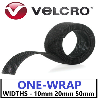 VELCRO® Brand ONE-WRAP® Double-Sided Hook & Loop Strapping Cable Tie Tidy Straps • 3.95£
