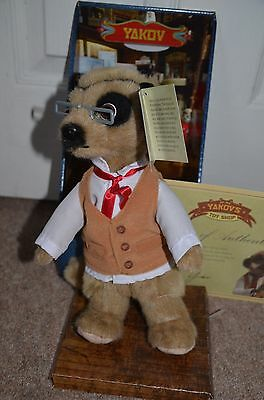 *** Fantastic *** Authentic Yakov Meerkat Toy-compare The Market-brand New • 5.99£