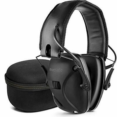 £49.86 • Buy Electronic Ear Defenders With Case Sport Impact Shooting Earmuffs Protection NEW