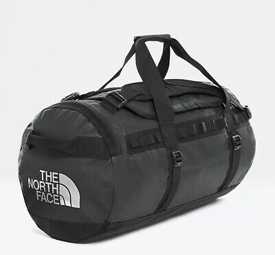 The North Face Black Base Camp Duffel Bag Medium (Black) 71 Litres NEW With Tags • 99.99£
