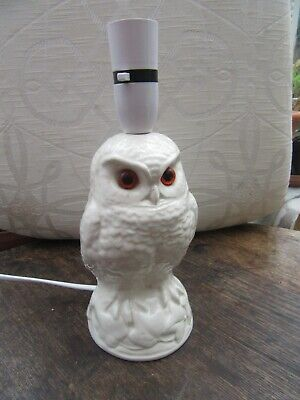 Poole Pottery Owl Lamp - Unmarked • 30£