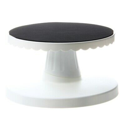 Rotating Icing Revolving Cake Tilting Turntable Decorating Stand Platform P9M7 • 10.99£