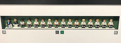 Lego Minifigures German Football Team Full Set. Only Display Frame Not Included. • 42.59£