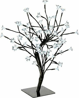 Cherry Blossom Christmas Tree (Artificial) - 60 Warm White LED Lights - 1.5ft • 14.95£
