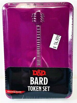 AU19.56 • Buy Dungeons & Dragons: Bard Token Set Combat Tiles And Tokens NEW!