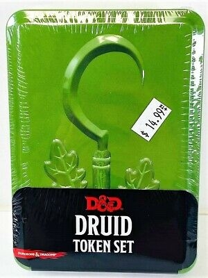 AU20.03 • Buy Dungeons & Dragons: Druid Token Set Includes Combat Tile And Tokens NEW!
