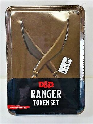 AU20.03 • Buy Dungeons & Dragons: Ranger Token Set Includes Combat Tile And Tokens NEW!