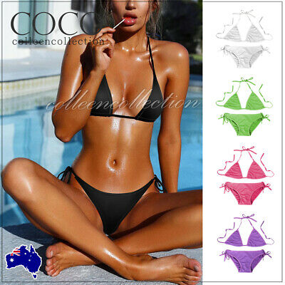 AU8.45 • Buy Women Bikini Set Sexy Top Bra Hot Summer Sexy Lingerie Swimsuit Swimwear Beach