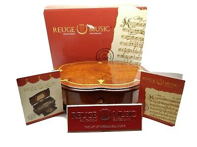 Reuge Music Box Canon By J. Pachelbel VERY RARE • 875£
