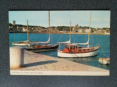 Jarrold Card Boats In Harbour At Donaghadee, Co Down • 1.99£