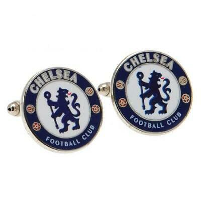 £14.99 • Buy Official CHELSEA FC Crest CUFFLINKS In A Gift Box CFC
