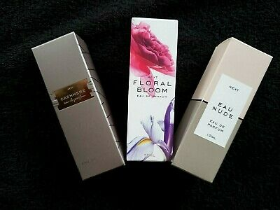 BNIB Next EDP Gift For Women 3 X 10ml Each Eau Nude + Floral Bloom + Cashmere • 15£