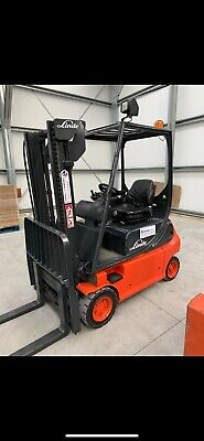 Linde E16 Electric Counterbalance Forklift Truck • 6,000£