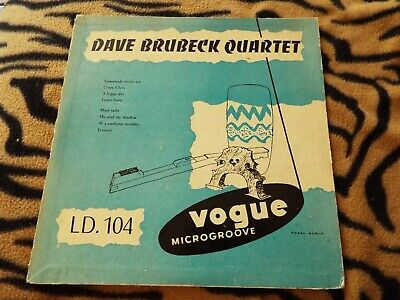 10 -jazz-dave Brubeck Quartet-dave Brubeck Quartet-french Vogue Ld 104 • 4£