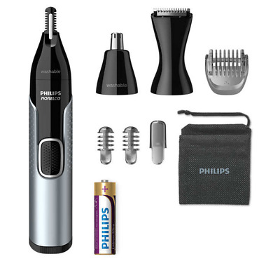 AU54.99 • Buy Philips Norelco Nose Trimmer 5000 Mens Ear Eyebrow Hair Shaver Cordless Grooming