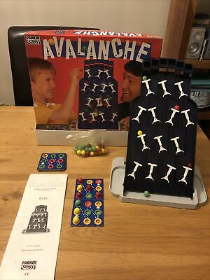 Vintage Avalanche Board Game 1991 Parker Games - Complete • 10.50£