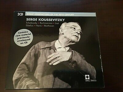 Great Conductors Of The 20th Century: Serge Koussevitzky (2 CDs, EMI) • 10.73£