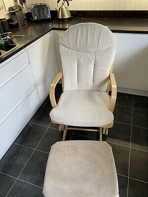 Dutailier Glider Nursing Maternity Rocking Chair With Stool • 20£