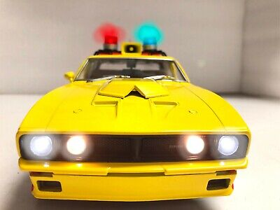 MFP Ford XB Falcon INTERCEPTOR 1974 MAD MAX First V8 1/18 WORKING Police LIGHTS • 179.75£