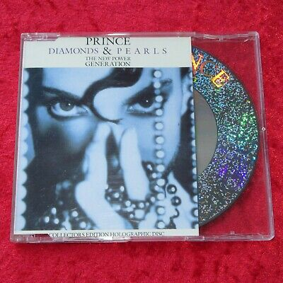 Prince - Diamonds & Pearls - 3 Track Holographic Cd Single • 5£