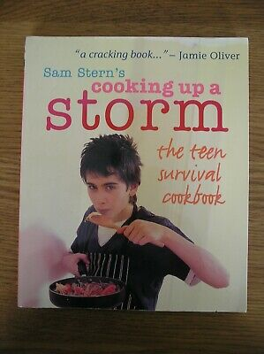 Sam Stern's Cooking Up A Storm Cookery Book • 1.40£