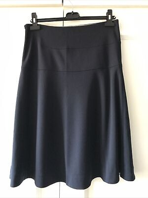 COS Navy Knee Length Skirt Size S/ Small • 4.99£