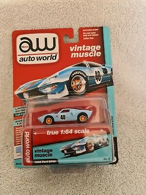 Autoworld 1:64 1965 Ford GT40. Limited Edition  • 15£
