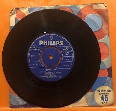 Harry Secombe - This Is My Song  - 7  Record Single • 0.99£