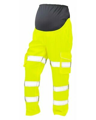 £58.45 • Buy Leo Verity Maternity High Visibility ISO 20471:2 Polycotton Work Cargo Trouser