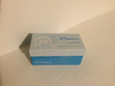 New Crabtree & Evelyn La Source Bath Tablets Boxed Pack Of 10 • 5.10£