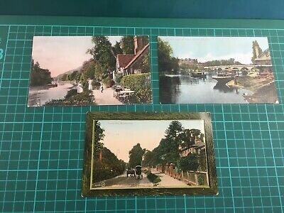 Three Colourised Postcards Of Maidenhead, Berkshire: Early 1900's • 0.99£