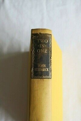 John Steinbeck - Of Mice And Men And Cannery Row (1947) 'Two-In-One' Hardback • 4£