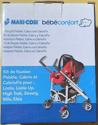 Maxi-cosy Bebeconfort Adapters Fitting Kit Pebble Cabrio And CabrioFix For Loola • 4.65£