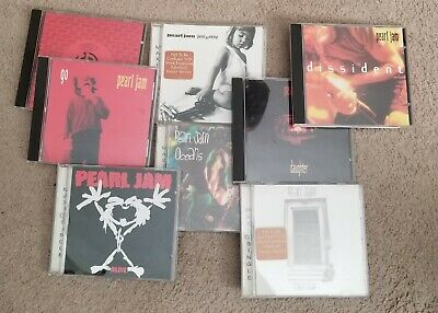$ CDN50.96 • Buy Lot Of 8 Pearl Jam Maxi~ Singles And Compilation CDs (Out Of Print)