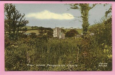 View Above Pengersick Castle, Praa Sands, Cornwall Postcard. Frith. • 5.99£