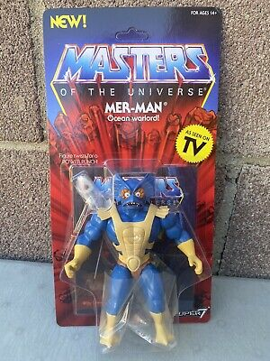 $29.99 • Buy MOTU Mer-man Masters Of The Universe Super7 Unpunched