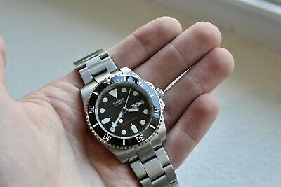 $ CDN418.08 • Buy NEW Seiko Black Skx007 SKX Mod Submariner NH36 Dive Watch Automatic 40mm