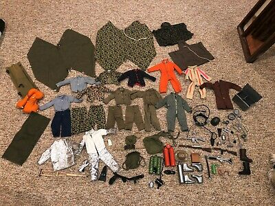 $ CDN1.29 • Buy Lot Of Vintage 1964 GI Joe Accessories And Clothes Uniforms