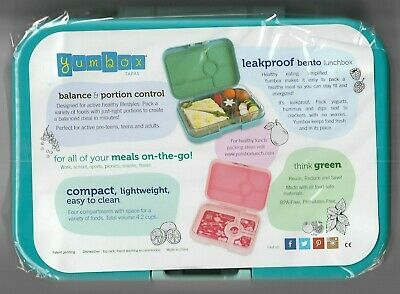 AU50.15 • Buy Best Quality Leakproof Lunchbox Yumbox Tapas *LARGE* Teal/blue AU Seller