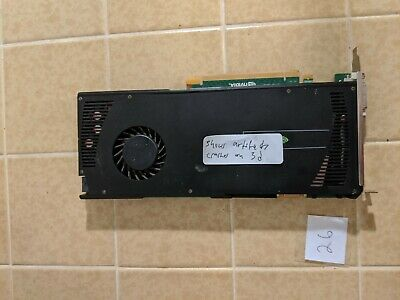 $ CDN34.04 • Buy Nvidia Quadro 4000 2GB Graphics Card  - For Parts - Artifacts