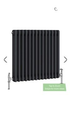 Keswick 420 W X 600 Cast Iron Style Traditional Anthracite Radiator RRP £199 • 150£