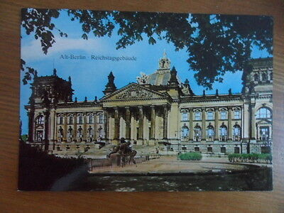 Collectable Old Postcard - Reichstagsgebaude - Berlin, Germany • 0.50£