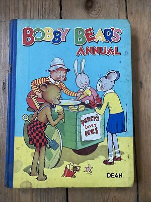 Rare Vintage 1948 BOBBY BEAR'S ANNUAL In Very Good Condition • 7.50£