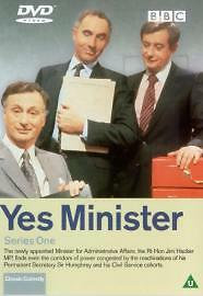 Yes Minister - Series 1 (DVD, 2001) • 2£