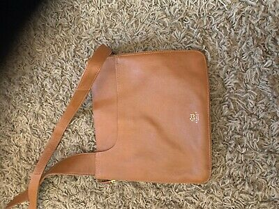 Radley Tan Leather Cross Body Bag Excellent Condition • 19£