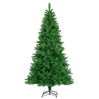 Artificial Christmas Xmas Tree Luxury Spruce Pine 5ft 6ft 7ft Metal Stand • 19.99£